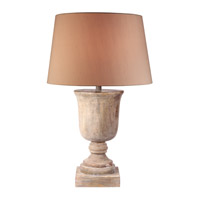 Kenroy Lighting Hickory 1 Light Table Lamp in Naturally Aged Wood 32426NAW