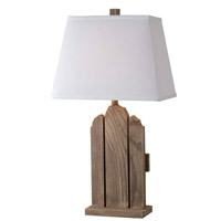 Sawyer 150 watt Wood Grain Table Lamp Portable Light