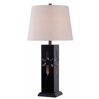 Kenroy Lighting Sedona 2 Light Table Lamp in Oil Rubbed Bronze 32547ORB