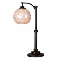 Kenroy Lighting Corona 1 Light Table Lamp in Oil Rubbed Bronze 32562ORB