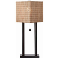 Offset 29 inch 150 watt Oil Rubbed Bronze Table Lamp Portable Light