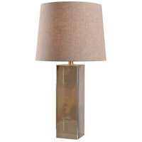 Kenroy Lighting Blake 1 Light Table Lamp in Champagne Glass 32614CHAM