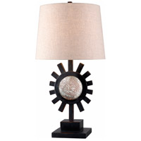 Ra 23 inch Oil Rubbed Bronze Table Lamp Portable Light
