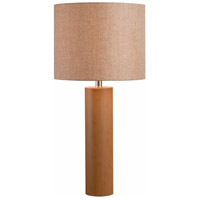 Cedro 29 inch 150 watt Light Wood Grain Table Lamp Portable Light
