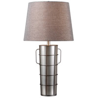 Vaso 30 inch 150 watt Galvanized Metal Table Lamp Portable Light