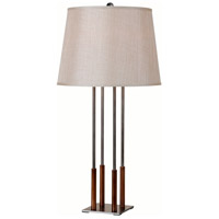 On Cue 30 inch 150 watt Copper Bronze/Graphite Table Lamp Portable Light