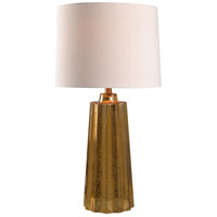 Kenroy Lighting Morningstar 1 Light Table Lamp in Gold Mercury Glass 32779GLD