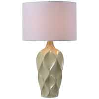 Kenroy Lighting Newport 1 Light Table Lamp in Pistachio 32792PST