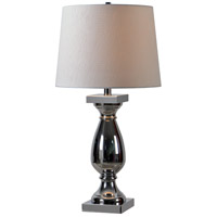 Kenroy Lighting Antoine 1 Light Table Lamp in Chrome 32798CH