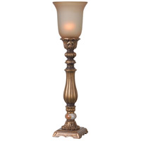 Turner 26 inch 150 watt Gold Table Torchiere Portable Light