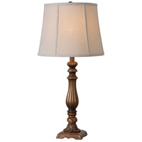 Kenroy Lighting Turner 1 Light Table Lamp in Gold 32811GLD