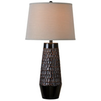 Kenroy Lighting Vienna 1 Light Table Lamp in Copper Bronze 32822CBZ
