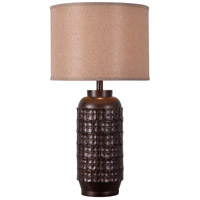 Axton 29 inch 150 watt Chocolate Table Lamp Portable Light