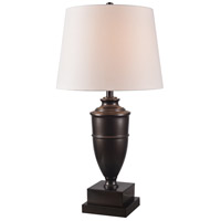 Regatta 29 inch 150 watt Bronze Table Lamp Portable Light