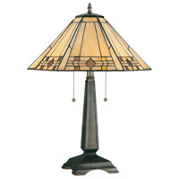 Kenroy Lighting Willow 2 Light Table Lamp in Bronze   33040BRZ