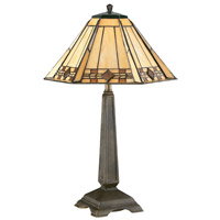 Kenroy Lighting Willow 1 Light Accent Lamp in Bronze   33041BRZ