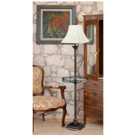 Kenroy Lighting 33052BBZ Wentworth 61 inch 150 watt Burnished Bronze Floor Lamp Portable Light, with Gallery Tray alternative photo thumbnail