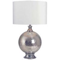 Kenroy Lighting 33143CH Caroline 25 inch Chrome Table Lamp Portable Light