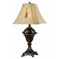 Kenroy Lighting Rowan 1 Light Table Lamp in Metallic Bronze   36004