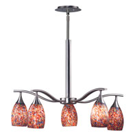Kenroy Lighting Medici 5 Light Chandelier in Brushed Steel   44305BS-CONF photo thumbnail