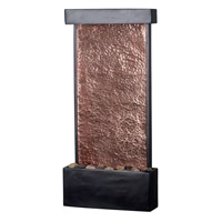 Kenroy Lighting Falling Water 1 Light Water Wall/Table Foutain in Oil Rubbed Bronze  w/Natural Hammered Copper  50002ORB
