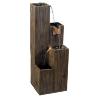 Kenroy Lighting Timber Floor Fountain in Wood Grain   50007WDG
