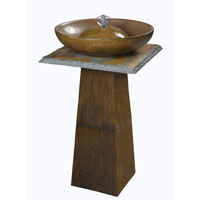 Kenroy Lighting Ferris Outdoor Fountain in Bronze  with Natural Slate Accents  50010BRZ