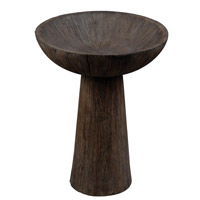 Kenroy Lighting Forest Outdoor Bird Bath in Driftwood 50018DW