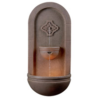 Kenroy Lighting Galway 1 Light Indoor or Outdoor Floor Fountain in Coquina 50025COQN