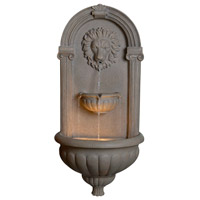 Kenroy Lighting Regal 1 Light Indoor or Outdoor Floor Fountain in Coquina 50026COQN