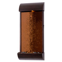 Kenroy Lighting Aspen 6 Light Wall Fountain in Bronze/Copper Mirrored Face 50048BRZ