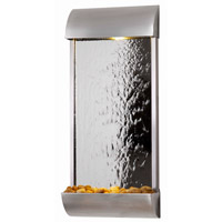 Kenroy Lighting Waterville 6 Light Wall Fountain in Stainless Steel/Mirrored Face 50052STST