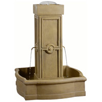 Quatrafoil Sandstone Outdoor Floor Fountain Home Decor