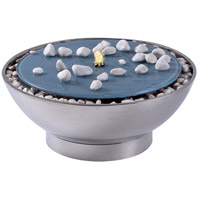 Frost Stainless Steel Indoor Bowl Fountain