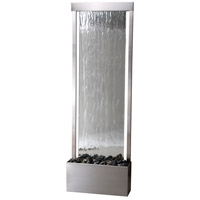 Glissade Stainless Steel/Mirror Face Floor Fountain Home Decor