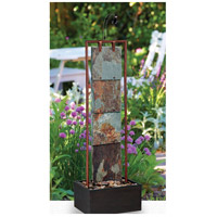 Kenroy Lighting 50151COP Montpelier Natural Slate wtih Copper Floor Fountain Home Decor alternative photo thumbnail