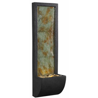 Kenroy Lighting Walla 3  Light Wall Fountain in Natural Slate with Oil Rubbed Bronze   50200SL