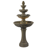 Kenroy Lighting 50231TE Rialto Tuscan Earth Outdoor Floor Fountain Home Decor