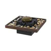 Kenroy Lighting Bliss Table Fountain in Two Toned Bronze   50233BRZ