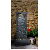 Kenroy Lighting 50282GYSL Bedrock Falls Natural Gray Slate Table/Wall Fountain Home Decor alternative photo thumbnail