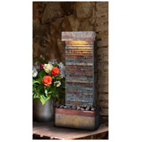 Kenroy Lighting Tacora 1 Light Table/Wall Fountain in Natural Slate/Copper 50290SLCOP alternative photo thumbnail