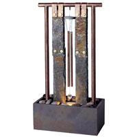 Foshan Chimes Natural Slate and Natural Copper Table Fountain