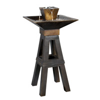 Kenroy Lighting 50613CPBZ Kenei 12V 10 watt Copper Bronze Indoor/Outdoor Floor Fountain photo thumbnail