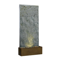 Kenroy Lighting Brook 1 Light Table Fountain in Natural Slate   50620SL