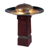 Kenroy Lighting Portland Sound 2 Light Floor Fountain in Copper   50720COP