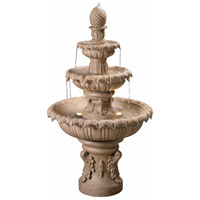 Kenroy Lighting 51010SNDST Ibiza Sandstone Outdoor Fountain