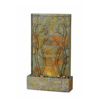 Kenroy Lighting 51015SLCOP Trailing Natural Slate and Natural Copper Floor Fountain photo thumbnail