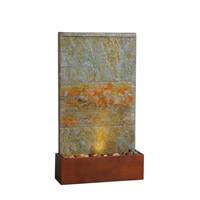 Kenroy Lighting 51020SLCOP Stream Natural Slate and Natural Copper Floor Fountain photo thumbnail