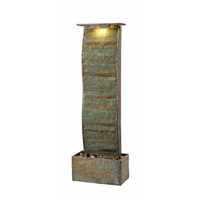 Kenroy Lighting 51025SL Meander Slate Floor Fountain