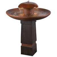 Kenroy Lighting 51026WDGCOP Oswego Bronze Floor Fountain